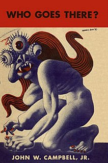 <i>Who Goes There?</i> 1938 American science fiction novella