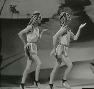 Wilson, Keppel and Betty - Wilson and Keppel perform their Sand Dance routine in 1934