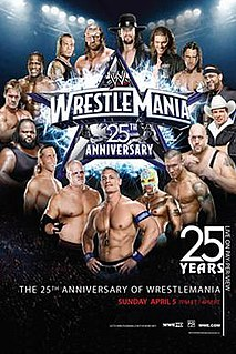 WrestleMania 25 2009 World Wrestling Entertainment pay-per-view event