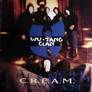 C.R.E.A.M. - Image: Wu Tang Cream cover