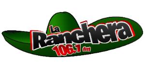 XHLTZ-FM - Image: XHLTZ laranchera 106.1 logo