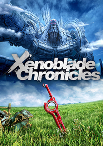 Xenoblade Chronicles - European cover art for the original Wii release