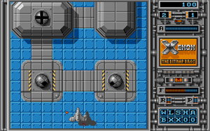 Xenon (video game) - In-game screenshot (Atari ST)