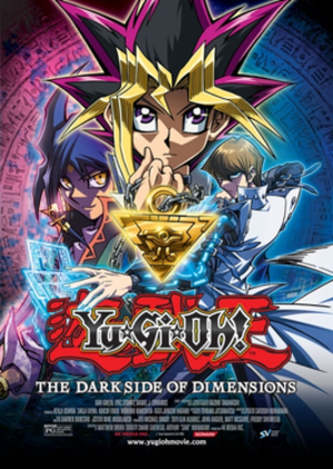 Yu-Gi-Oh!: The Dark Side of Dimensions - Theatrical Release Poster