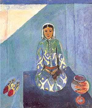 Zorah on the Terrace - Zorah on the Terrace, 1912, oil on canvas, 116 x 100 cm., The Pushkin Museum of Fine Arts, Moscow, Russia