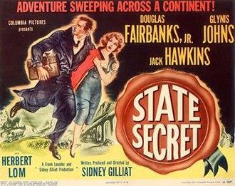 State Secret (1950 film) - Lobby card