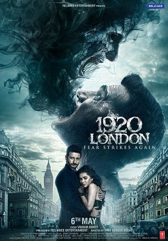 1920: London - Theatrical release poster