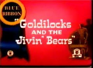 Goldilocks and the Jivin' Bears - The December 1st, 1951 reissue card