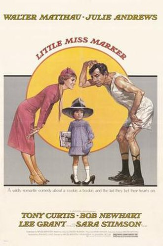 Little Miss Marker (1980 film) - Image: 1980 little miss marker POSTER