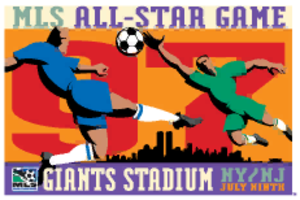 1997 MLS All-Star Game - Image: 1997 MLS All Star Game logo