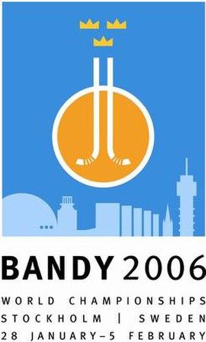 2006 Bandy World Championship - Image: 2006 Bandy World Championship logo
