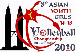 2010 Asian Youth Girls Volleyball Championship logo.png