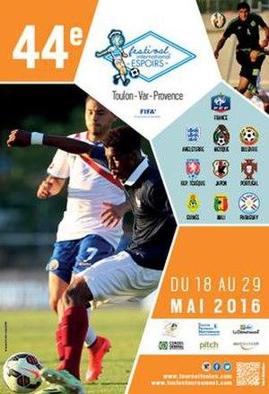 2016 Toulon Tournament - Image: 2016 Toulon Tournament