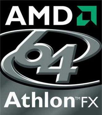 Athlon 64 X2 - AMD Athlon 64 FX logo