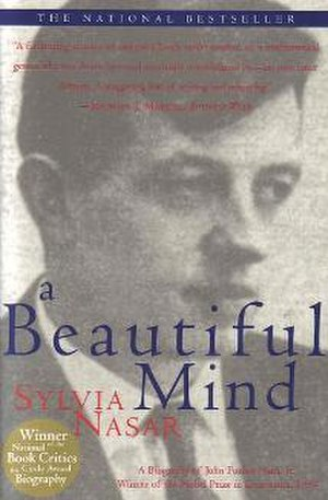 A Beautiful Mind (book) - Front cover