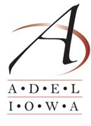 Adel, Iowa - Image: Adel IA city logo
