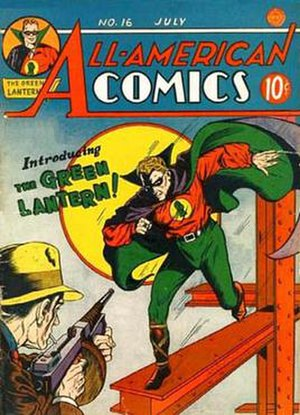 Green Lantern - Image: All American Comics 16