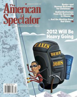 The American Spectator - Image: Amsp 1211