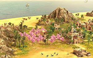 Anno 1404 - Anno 1404 partly takes place in the Orient.