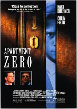 Apartment Zero - Theatrical release poster
