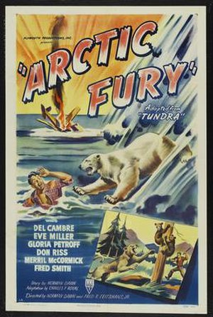 Arctic Fury - Theatrical release poster