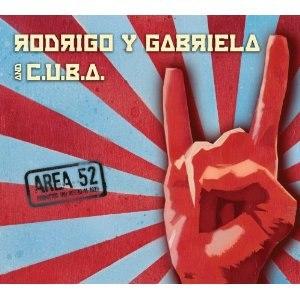 Area 52 (album) - Image: Area 52 (Rodrigo y Gabriela album)
