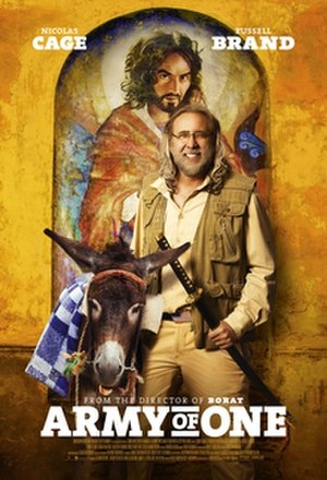 Army of One (2016 film) - Digital release poster