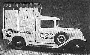 Americold - A member of Atlantic Ice and Coal's truck fleet