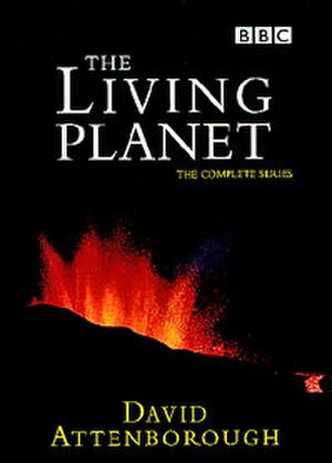 The Living Planet - Region 2 DVD cover