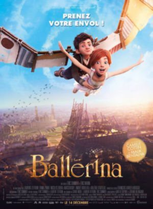 Ballerina (2016 film) - French theatrical release poster