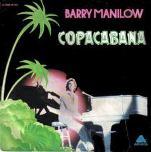 Copacabana (song) - Image: Barry Manilow Copacabana 7Inch Single Cover