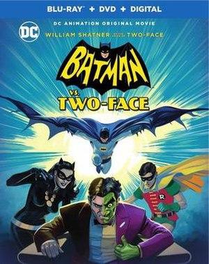 Batman vs. Two-Face - Image: Batman vs Two Face cover