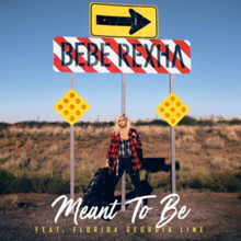 Resultado de imagem para meant to be bebe rexha single photo