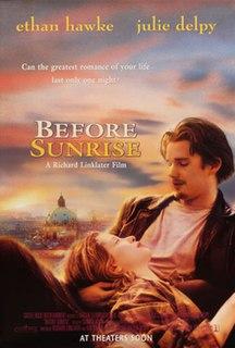 <i>Before Sunrise</i> 1995 film by Richard Linklater
