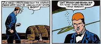 Bernard Baily - Image: Bernard Baily Spectre panels
