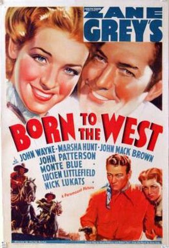 Born to the West - Image: Born to the West Film Poster