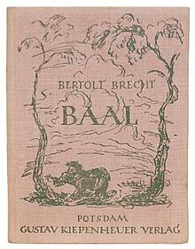 Baal (play) - Wikipedia