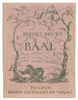 <i>Baal</i> (play) play writen by Bertolt Brecht