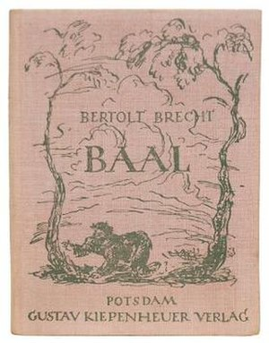 Baal (play) - First published edition