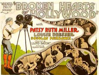 Broken Hearts of Hollywood - Theatrical release poster