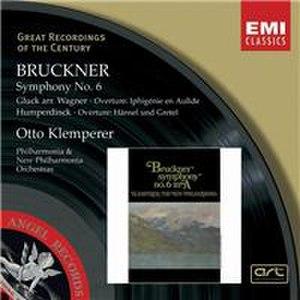 Symphony No. 6 (Bruckner) - Cover of the Klemperer/New Philharmonia 1964 recording, reissued 2003
