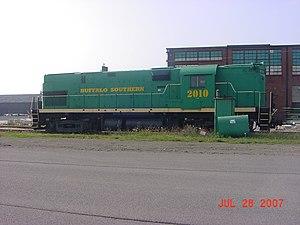 Buffalo Southern Railroad - Image: Buffalo Southern Railroad Locomotive 2010
