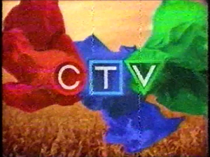 CTV Television Network - The ribbons logo used from 1998-2011.