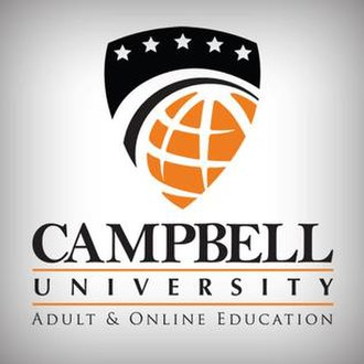 Campbell University Adult and Online Education - Image: Campbell University AOE Logo