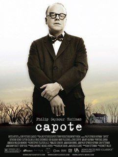 2005 biographical film about Truman Capote directed by Bennett Miller