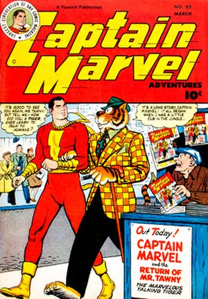 Tawky Tawny - Image: Captain Marvel Adv 82 1948 Tawky Tawny