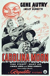 <i>Carolina Moon</i> (1940 film) 1940 film by Frank McDonald