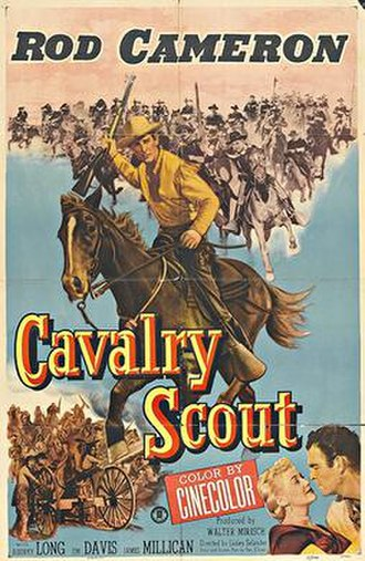 Cavalry Scout (film) - Image: Cavalry Scout (film)