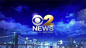 "WCBS-TV - ""CBS 2 News"" nighttime open from September 22, 2013 to April 21, 2016. On April 22, 2016, the logo was changed to a new numeric ""2"" for the first time since 1997, in the same font used by WBBM-TV and KCBS-TV, also used since 1997."