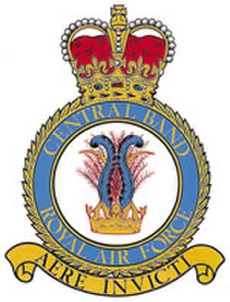 Central Band of the Royal Air Force - Badge of the Central Band of the RAF
